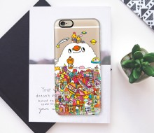 Iphone case design for Casetify