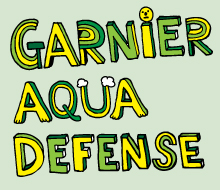 Illustrations for Garnier Aqua