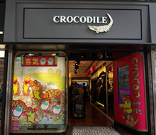 Window Display for Crocodile
