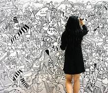 Live Painting at Tokyo Big Sight