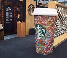 Starbucks Exhibition at Cityplaza, Taikoo Shing