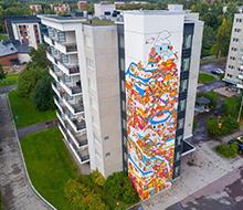 UPEA Street Art festival in Finland
